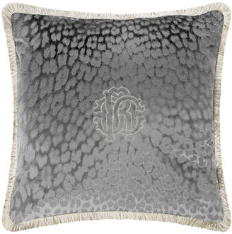 Roberto Cavalli Monogram Cushion