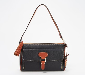 Dooney & Bourke Pebble Leather Dana Pocket Clutch