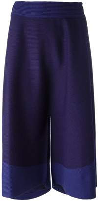 Issey Miyake elasticated waistband cropped trousers