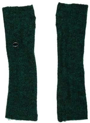 Chanel Embellished Fingerless Gloves