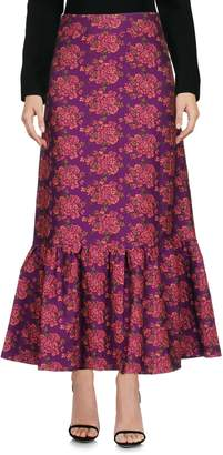 Rose' A Pois Long skirts - Item 35376628CV