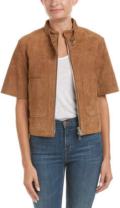 Theory Lavzinie.Wilmore Suede Jacket