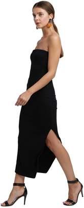 Rachel Pally Luxe Rib Bobbi Dress - Black