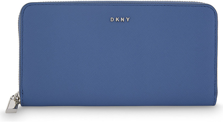 DKNYDkny Bryant Park large leather wallet