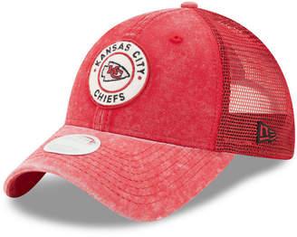 New Era Women's Kansas City Chiefs Perfect Patch 9TWENTY Snapback Cap