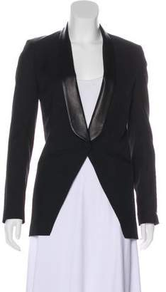 Mason by Michelle Mason Structured Contrast Blazer