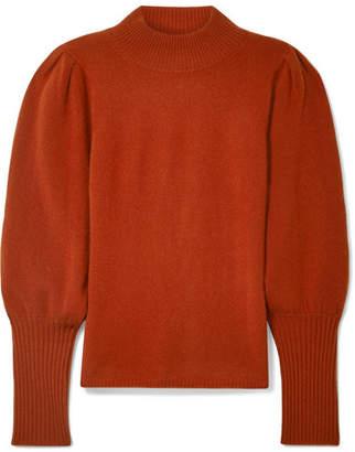 Sea Cailyn Cashmere Turtleneck Sweater - Brick