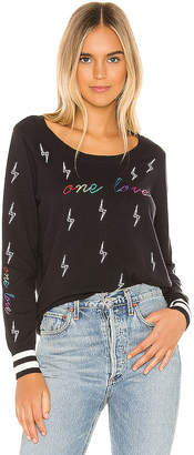 Chaser One Love Crew Neck Pullover