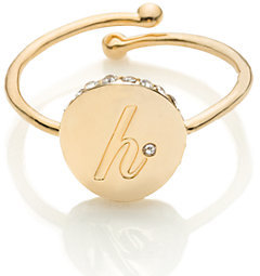 Forever mine initial ring $32 thestylecure.com