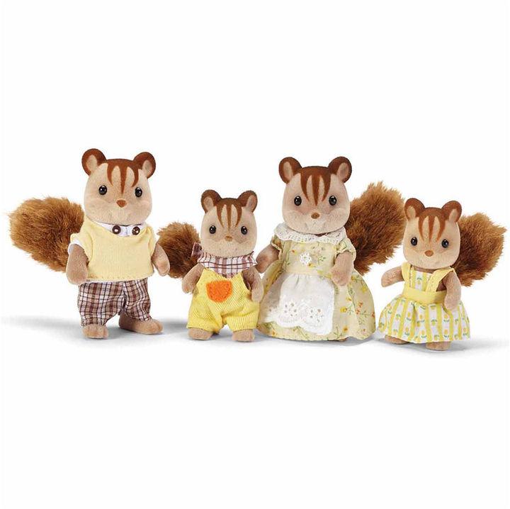 INTERNATIONAL PLAYTHINGS Calico Critters Hazelnut Chipmunk Family
