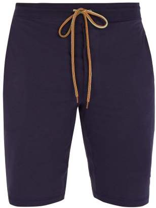 Paul Smith Cotton Jersey Shorts - Mens - Navy