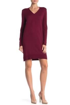 Joe Fresh V-Neck Long Sleeve Knit Dress