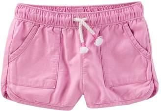 Osh Kosh Oshkosh Bgosh Toddler Girl Pull-On Drapey Twill Shorts