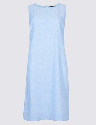 Marks and Spencer Linen Blend Tunic Dress