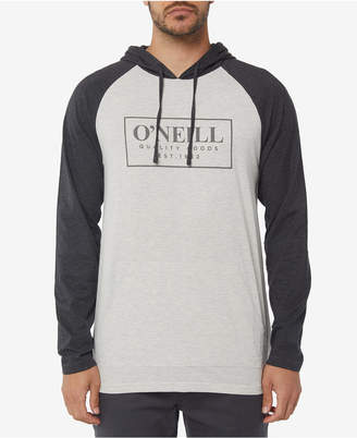 O'Neill Men's League Colorblocked Logo Graphic Hooded T-Shirt