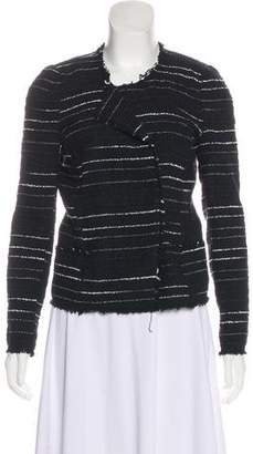 Etoile Isabel Marant Tweed Crew Neck Jacket