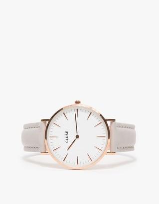 La Bohème Rose Gold White/Grey $99 thestylecure.com