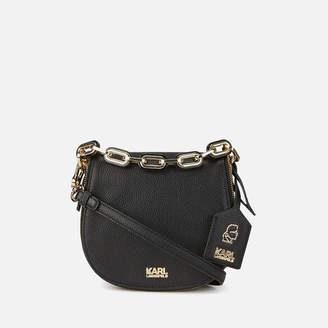 Karl Lagerfeld Women's K/Grainy Satchel Bag - Black