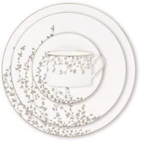 Kate Spade Gardner Street Platinum Dinner Plate