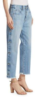 Jonathan Simkhai Button Down Jeans