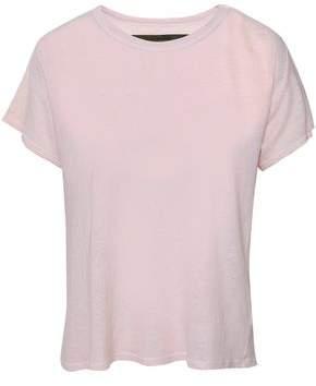 Enza Costa Hemp And Cotton-blend Jersey T-shirt