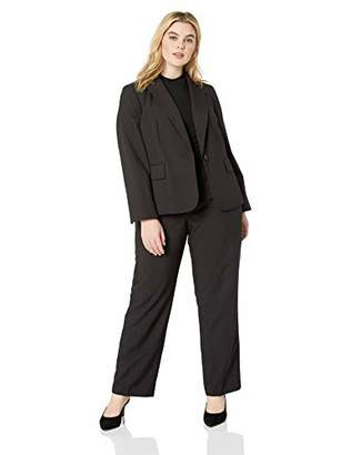 Womens Black Pinstripe Suit Shopstyle