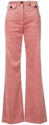 ALEXACHUNG Alexa Chung flared corduroy trousers