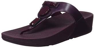 FitFlop Women's Glamoritz Toe-Thong Platform Sandals