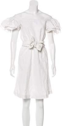 Isa Arfen Short Sleeve Mini Dress