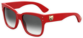 Moschino Square Gradient Sunglasses