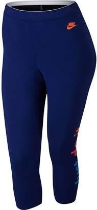 Nike Plus Size Curve-Hugging Comfort Leggings