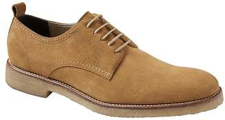 Banana Republic Dewitt Suede Crepe-Sole Oxford