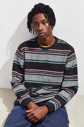 Stussy Surf Stripe Crew Neck Sweatshirt