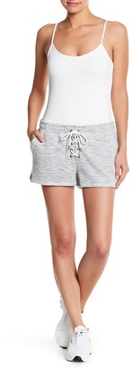 PLANET GOLD Lace-Up Knit Short $12.97 thestylecure.com