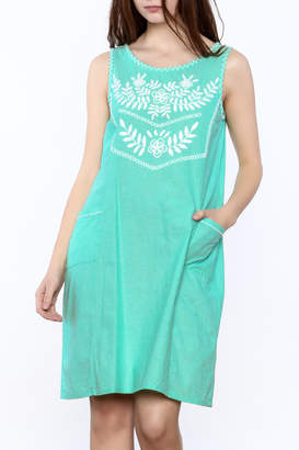Abrazo Style Maria Embroidered Dress
