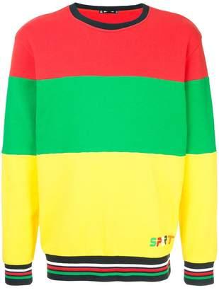 The Upside colour block sweater