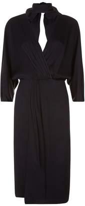 Diane von Furstenberg Tie Front Wrap Dress