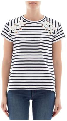 Sacai (サカイ) - White Cotton Sweatshirt