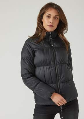 Emporio Armani Lightweight Reversible Nylon Padded Jacket