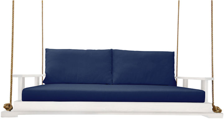 Southern Komfort Bed Swings Hampton Porch Swing, White/Navy