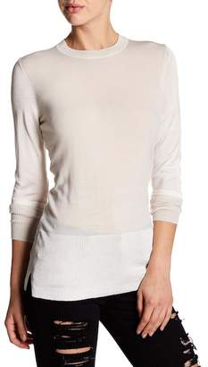 Blend of America Love Token Sly Wool Colorblocked Sweater