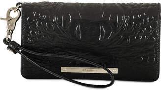 Brahmin Melbourne Debra Embossed Leather Wristlet