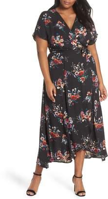 Bobeau Wren Wrap Dress