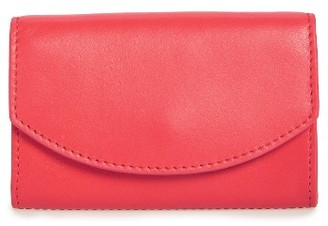 Women's Skagen Leather Card Case - Red $45 thestylecure.com