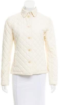Ralph Lauren Black Label Quilted Button-Up Jacket