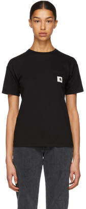 Carhartt Work In Progress Black Carrie Pocket T-Shirt