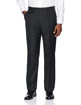 Buttoned Down Men's Tailored Fit Super 110 Italian Wool Suit Dress Pant