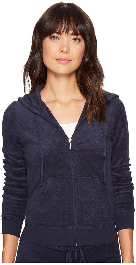Juicy Couture Juicy Couture - Robertson Microterry Jacket Women's Coat