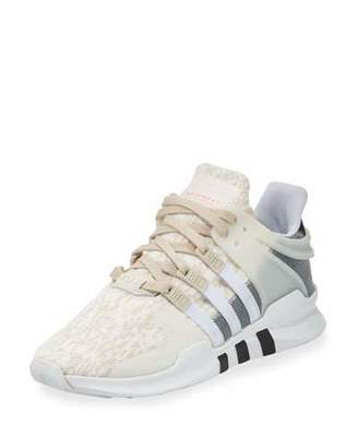 Adidas Equipment Support Knit Sneaker, Clear Brown/White/Gray $110 thestylecure.com