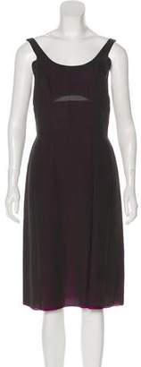 Narciso Rodriguez Silk Midi Dress